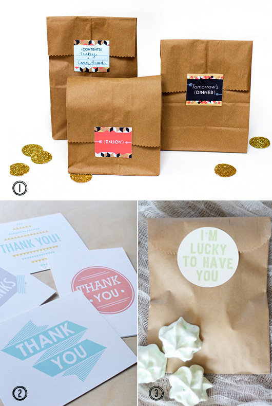 Favours and thank you cards